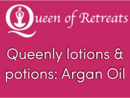 Queenly lotions & potions: Argan Oil