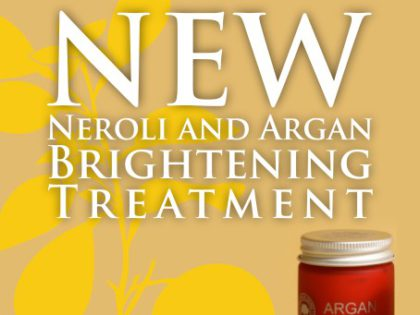 NEW! Neroli and Argan Brightening Treatment